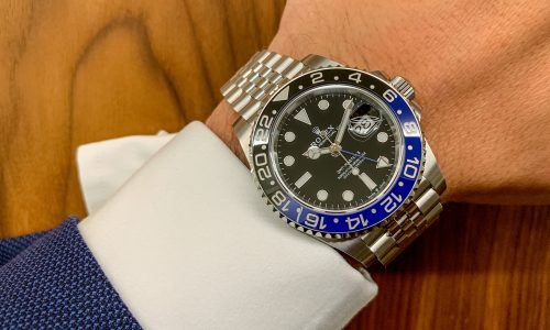 "Hands-on Rolex GMT-Master II ""Batman"" 126710 BLNR"