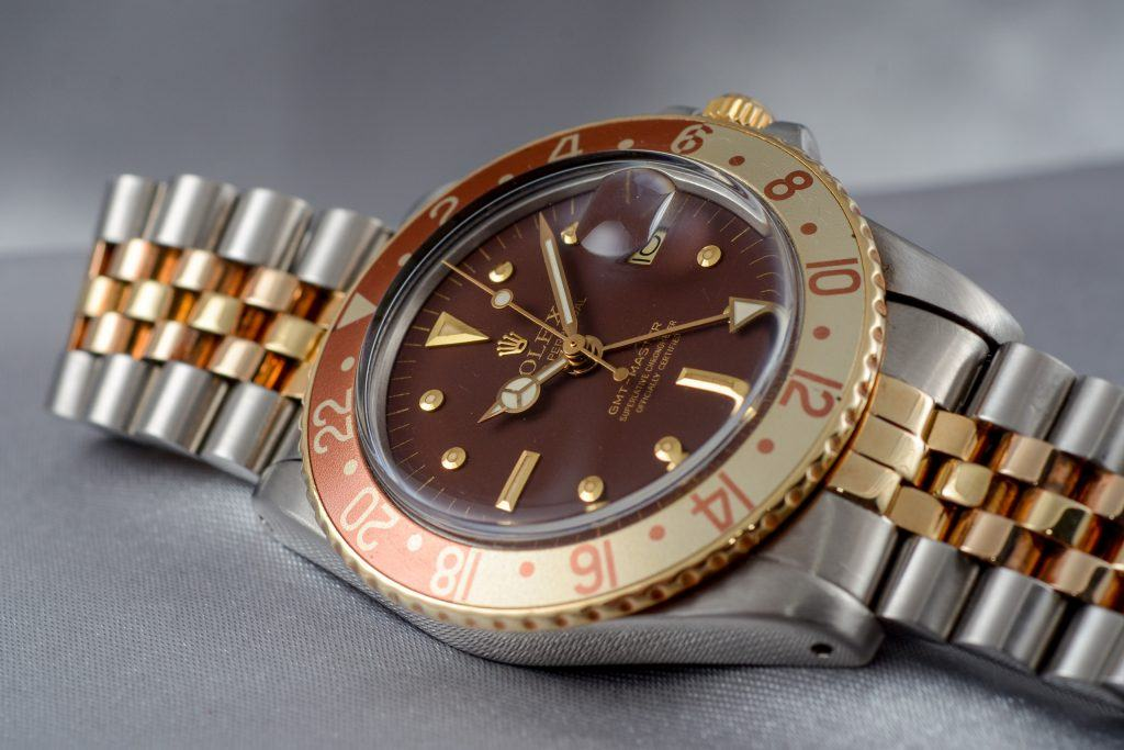 Luxify Rolex GMT-Master Auktionen Dr. Crott Auctioneers Pepsi Root Beer Fat Lady