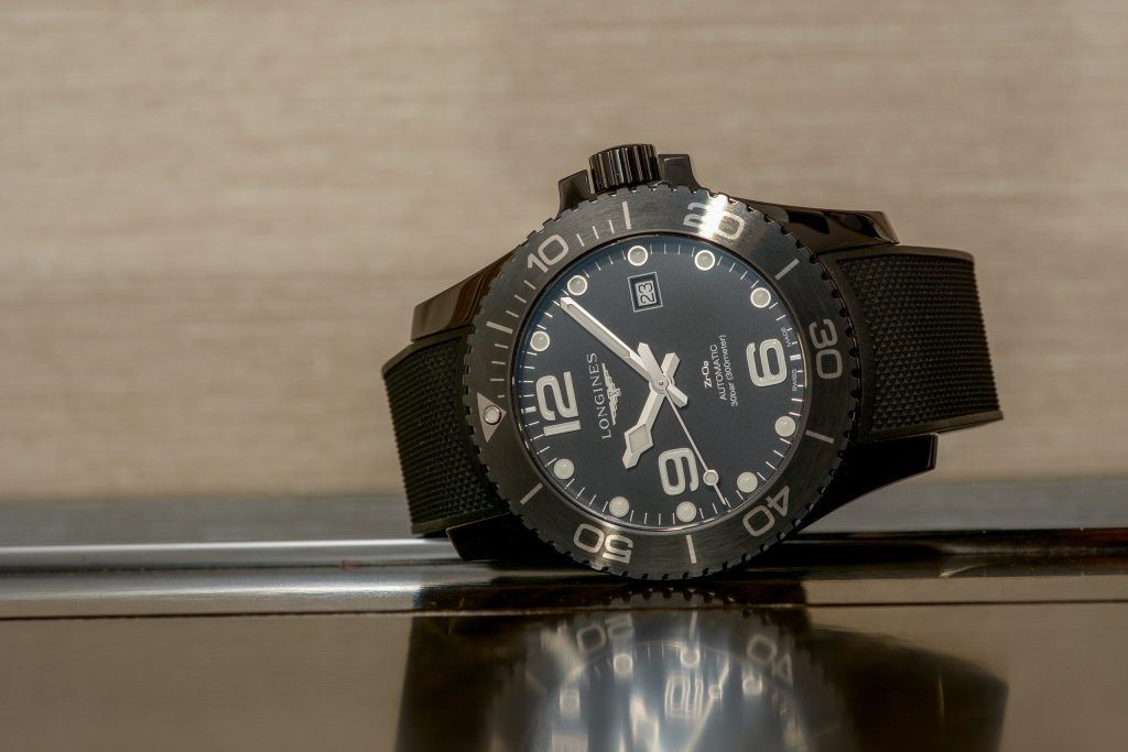 Luxify Review Hands-on Longines HydroConquest All Black Full Ceramic