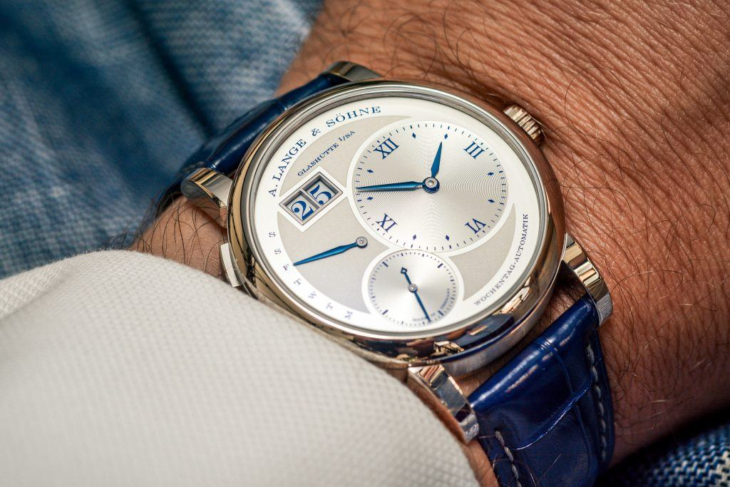 Luxify Review A. Lange & Söhne Lange 1 Daymatic 25th Anniversary Ref. 320.066