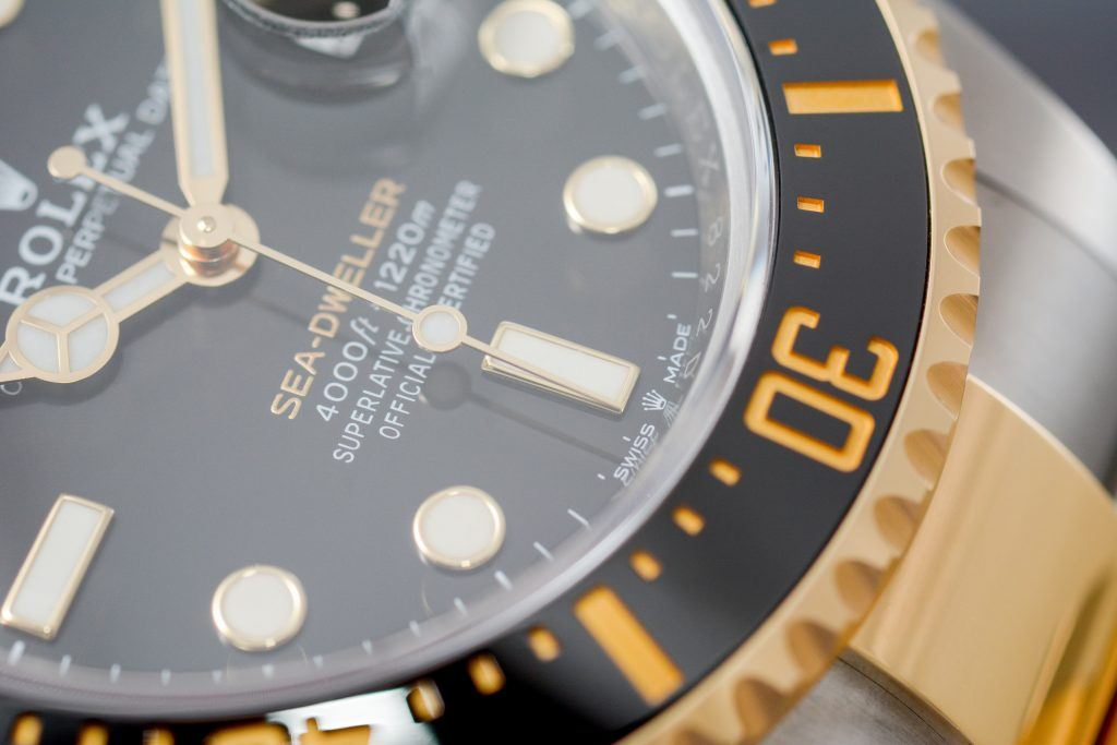 Luxify Review Rolex Sea-Dweller Rolesor Ref. 126603
