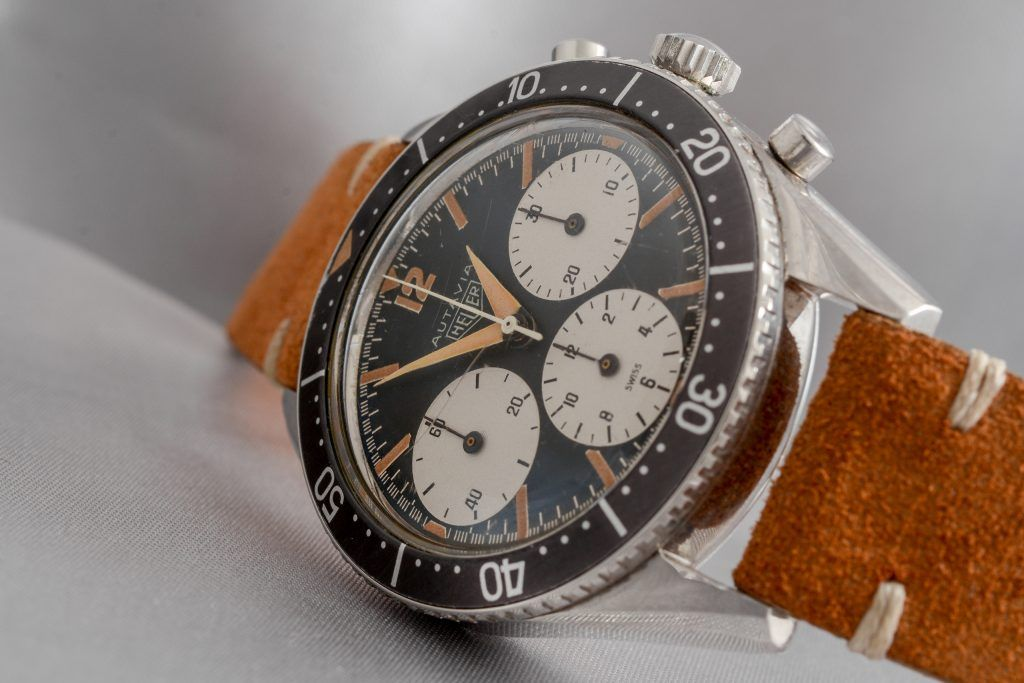 Luxify Vintage Chronograph Heuer Zenith Breitling Dr. Crott Auctioneers
