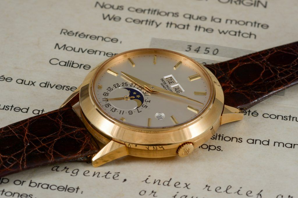 Luxify Patek Philippe 3450 Highlights Auktion Dr. Crott Auctioneers