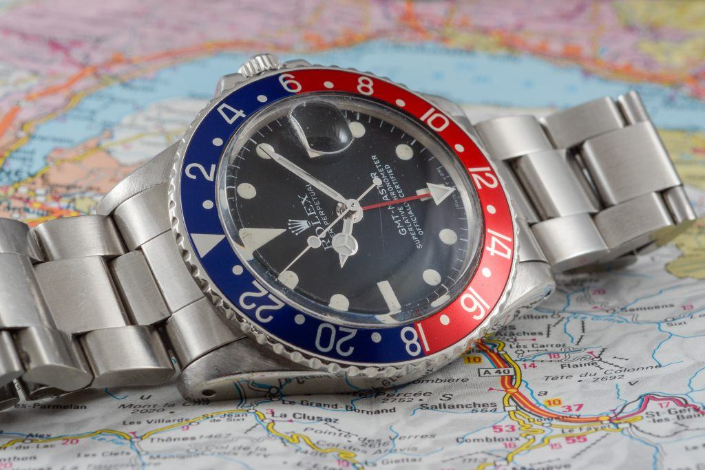 Luxify Vintage Rolex GMT-Master 1675 16750 6542 Dr. Crott Auctioneers