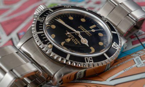 13x Vintage Rolex Submariner bei Dr. Crott