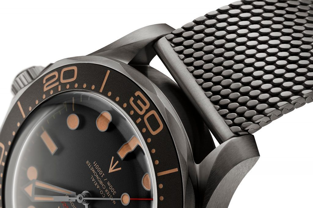 James Bond No Time to Die Omega Seamaster Diver 300M 007 Edition
