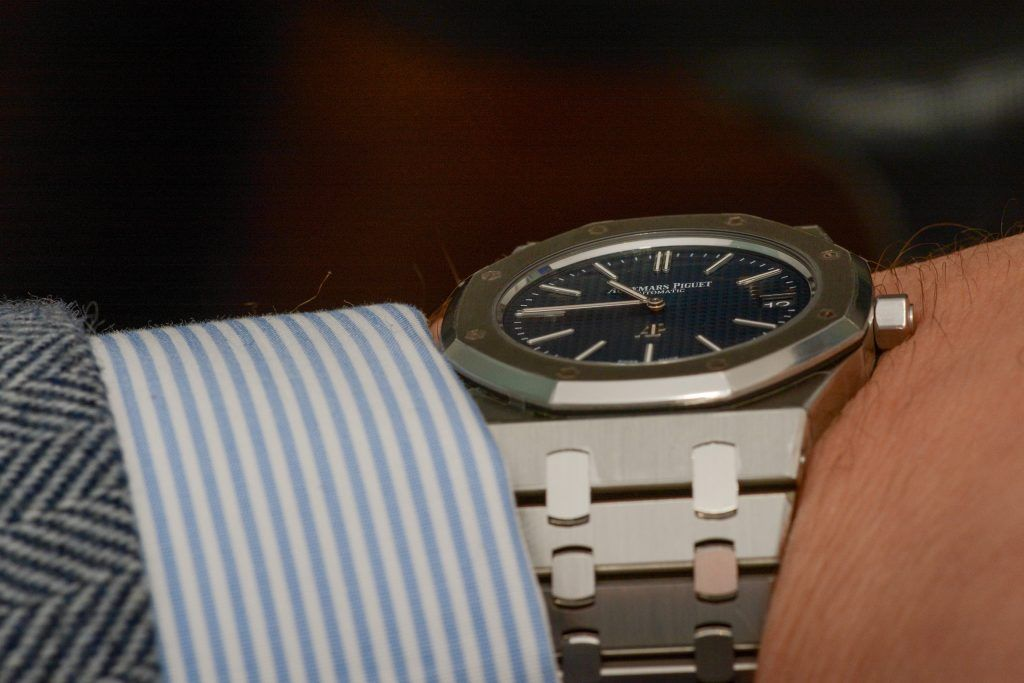 Luxify Top 5 begehrteste Uhren Audemars Piguet Royal Oak 15202