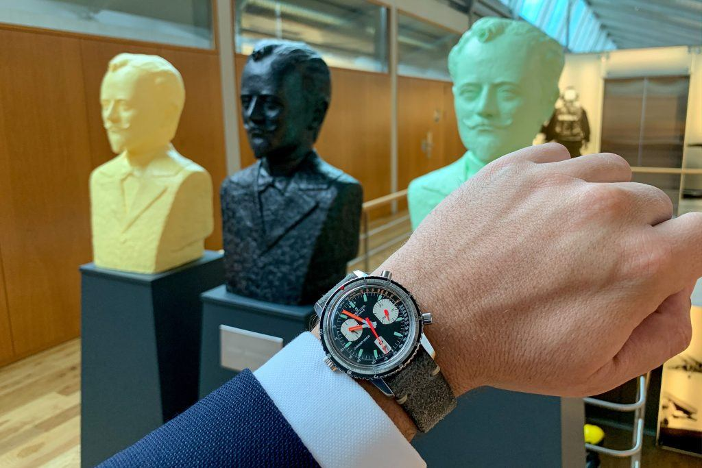Luxify Manufacture Visit Breitling Chronometrie