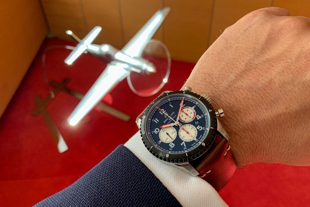 Luxify Review Breitling B01 Chronograph Mosquito AB01194A1B1