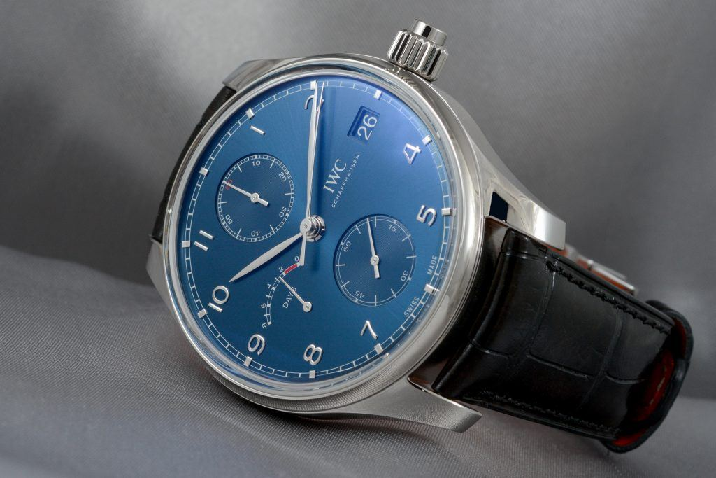 Review IWC Portogieser Monopusher Laureus IW515301