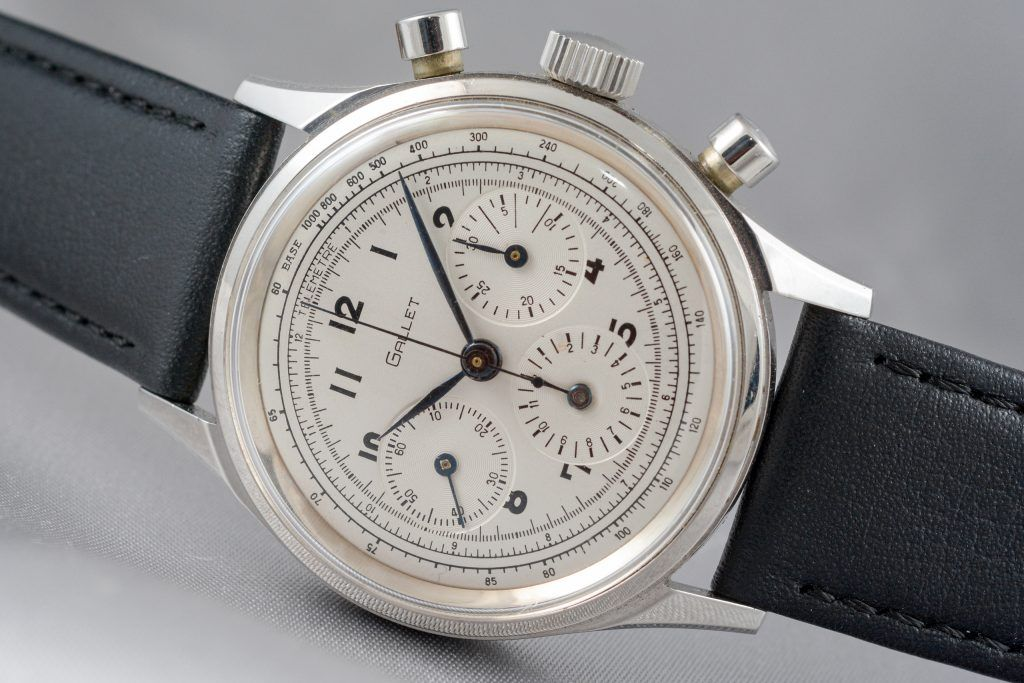 Luxify Review Vintage Chronographen Dr. Crott Auktion Gallet