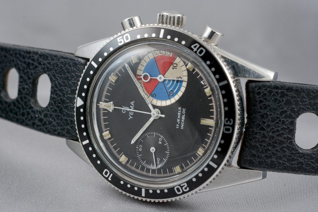 Luxify Review Vintage Chronographen Dr. Crott Auktion Yema