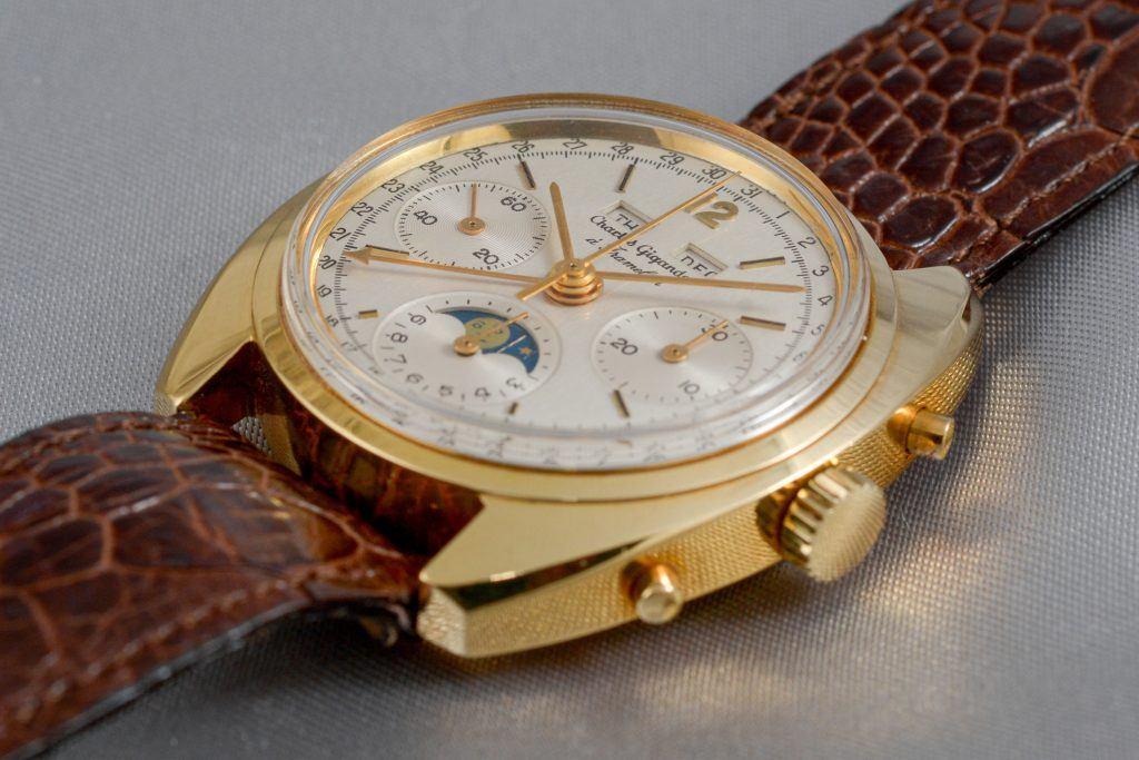 Luxify Review Vintage Chronographen Dr. Crott Auktion Gigandet