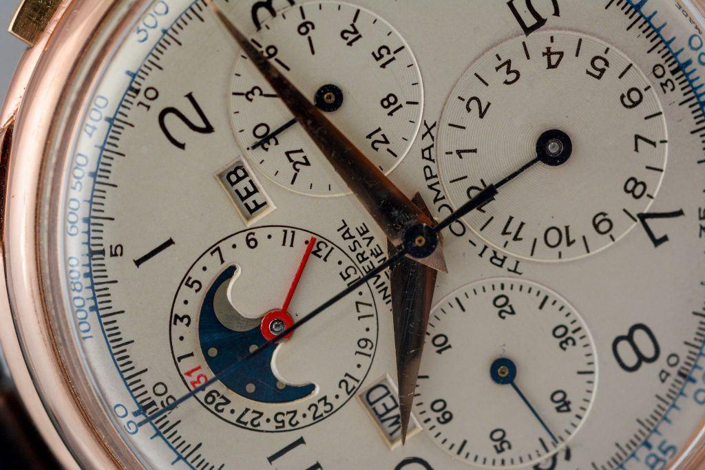 Luxify Review Vintage Chronographen Dr. Crott Auktion Universal