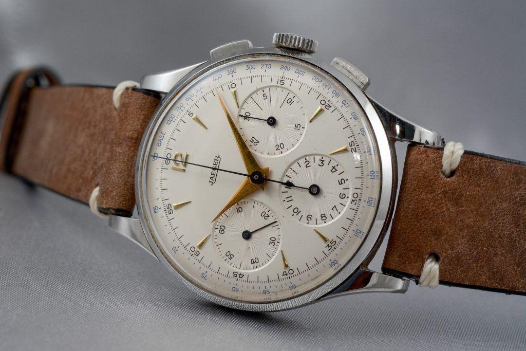 Luxify Review Vintage Chronographen Dr. Crott Auktion Jaeger