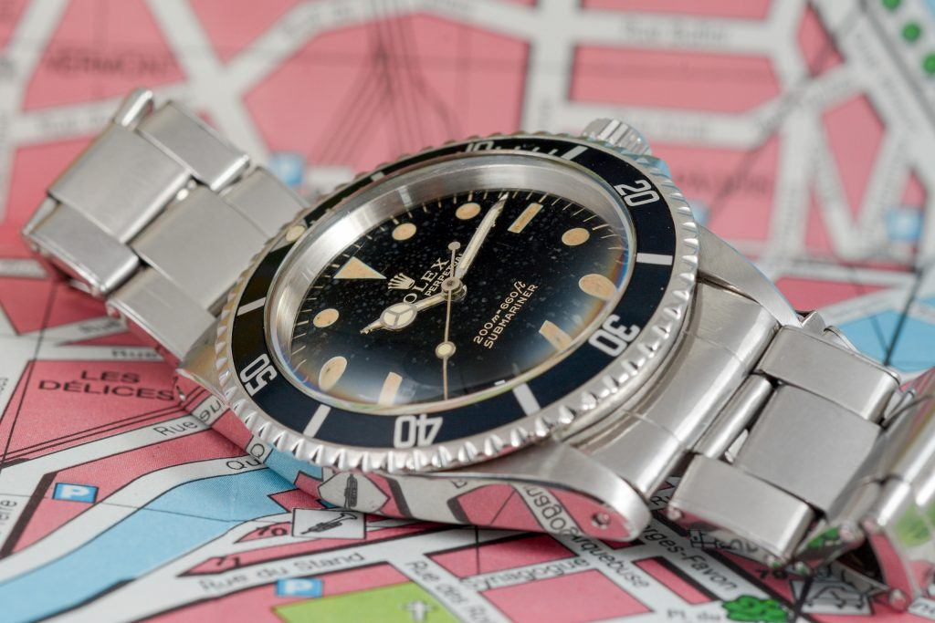 Luxify Review Rolex Submariner 5513 Dr. Crott Auctioneers