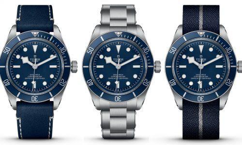 """Navy Blue"" - die Tudor Black Bay Fifty-Eight wird blau!"