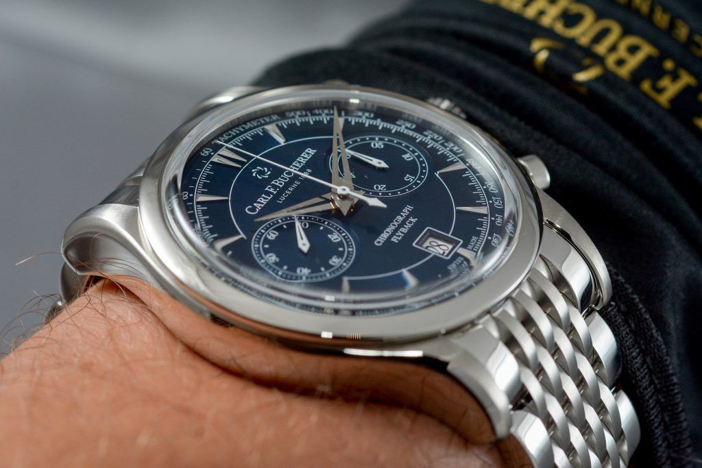 Luxify Review Geneva Watch Days 2020 Carl F. Bucherer Manero Flyback