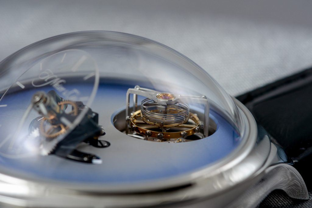 Luxify Review Geneva Watch Days 2020 H. Moser x MB&F Endeavour Cylindrical Tourbillon