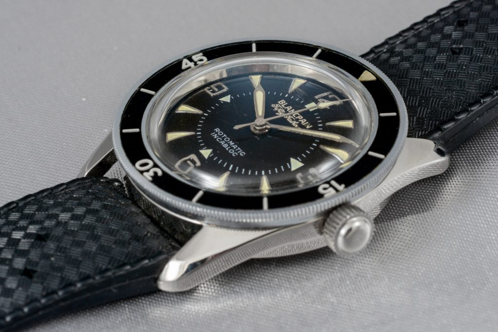 Luxify Auction Preview Auktion Dr. Crott Blancpain Fifty Fathoms