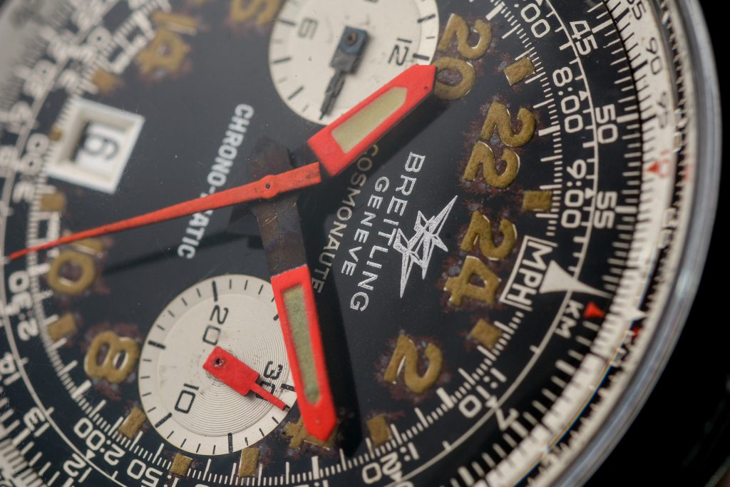 Luxify Auction Preview Auktion Dr. Crott Breitling Cosmonaute Chrono-Matic