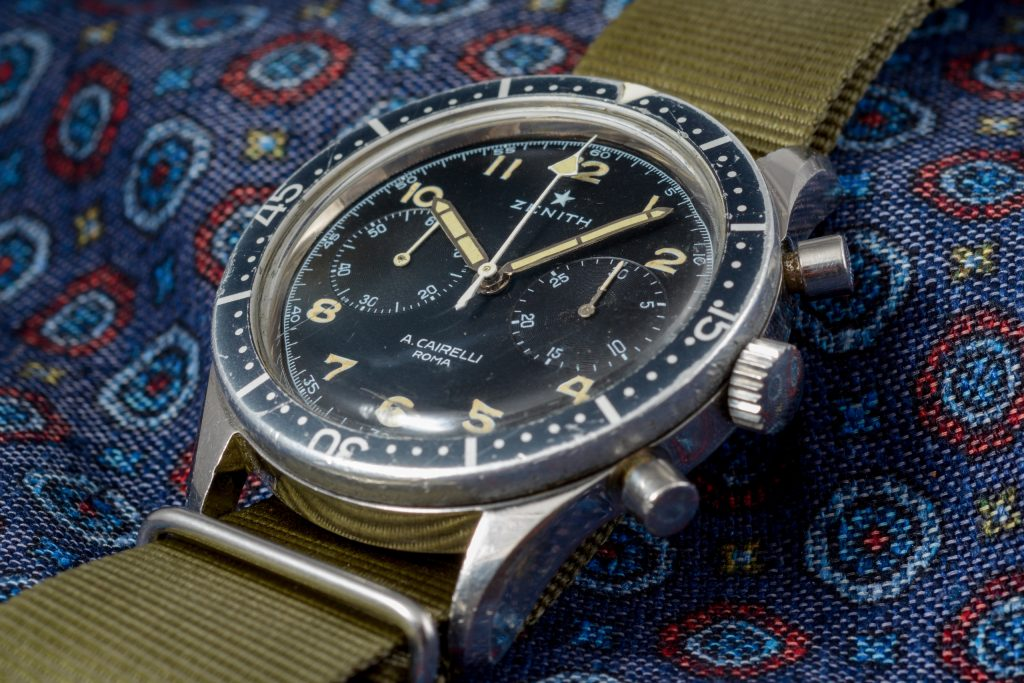 Luxify Auction Preview Dr. Crott Auktion Vintage Zenith Chronograph Cairelli