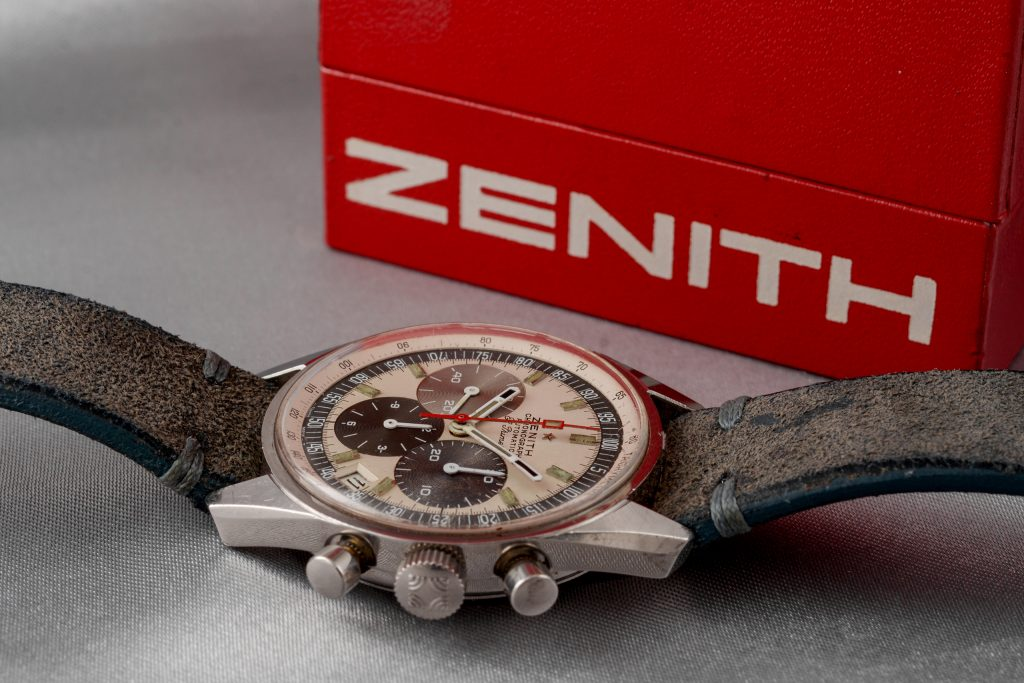 Luxify Auction Preview Dr. Crott Auktion Vintage Zenith Chronograph El Primero