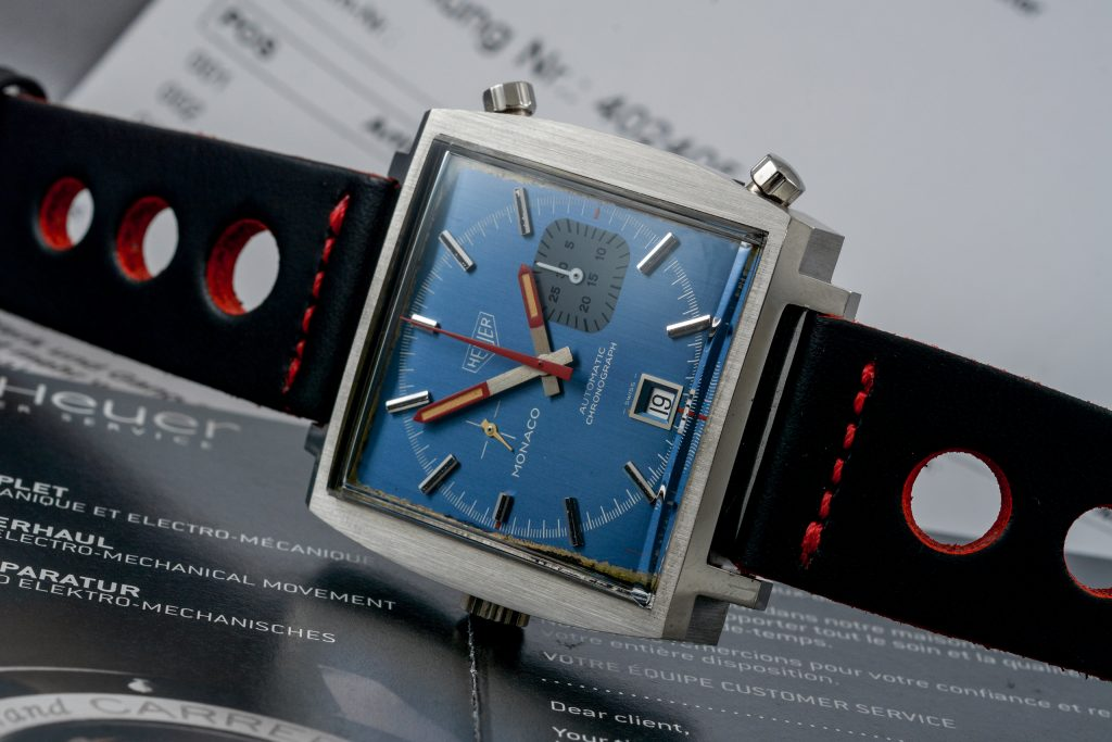Luxify Auction Preview Dr. Crott Auktion Vintage Heuer Chronograph Monaco
