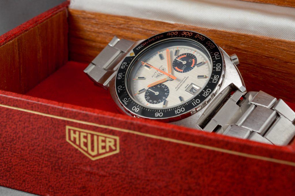 Luxify Auction Preview Dr. Crott Auktion Vintage Heuer Chronograph Autavia