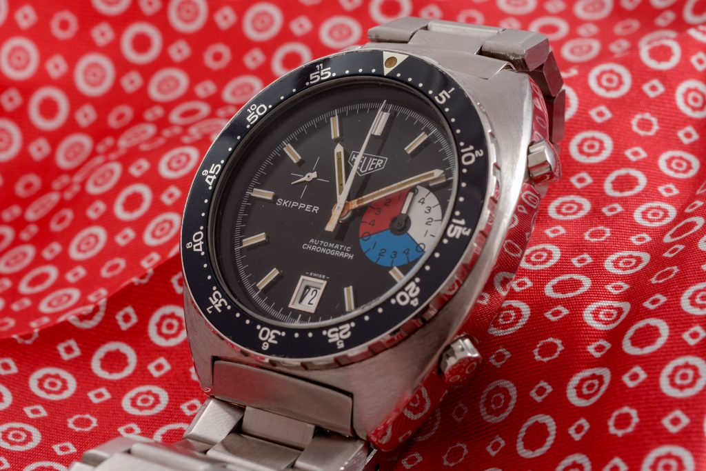 Luxify Auction Preview Dr. Crott Auktion Vintage Heuer Chronograph Skipper