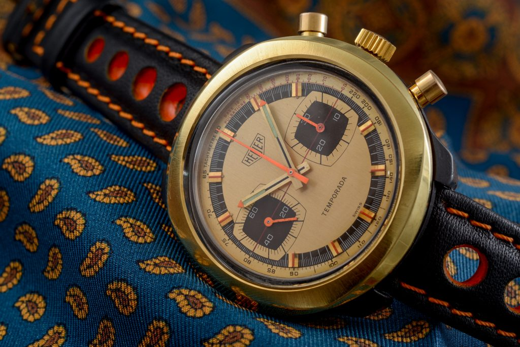 Luxify Auction Preview Dr. Crott Auktion Vintage Heuer Chronograph Temporada