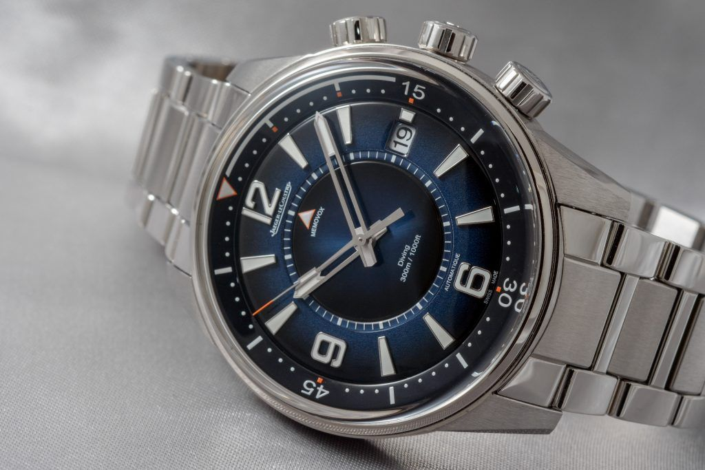 Luxify Review Hands-on Jaeger-LeCoultre Polaris Mariner Memovox Date