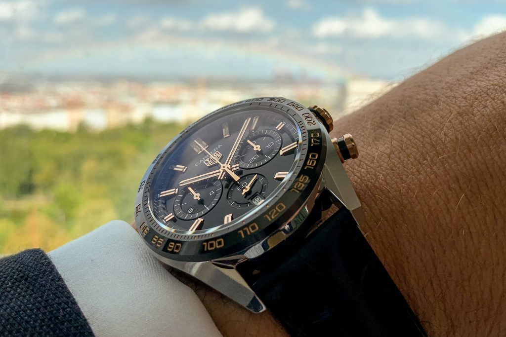 Luxify Review Hands-on TAG Heuer Carrera Sport Chronograph 44 mm Calibre 02 Automatic