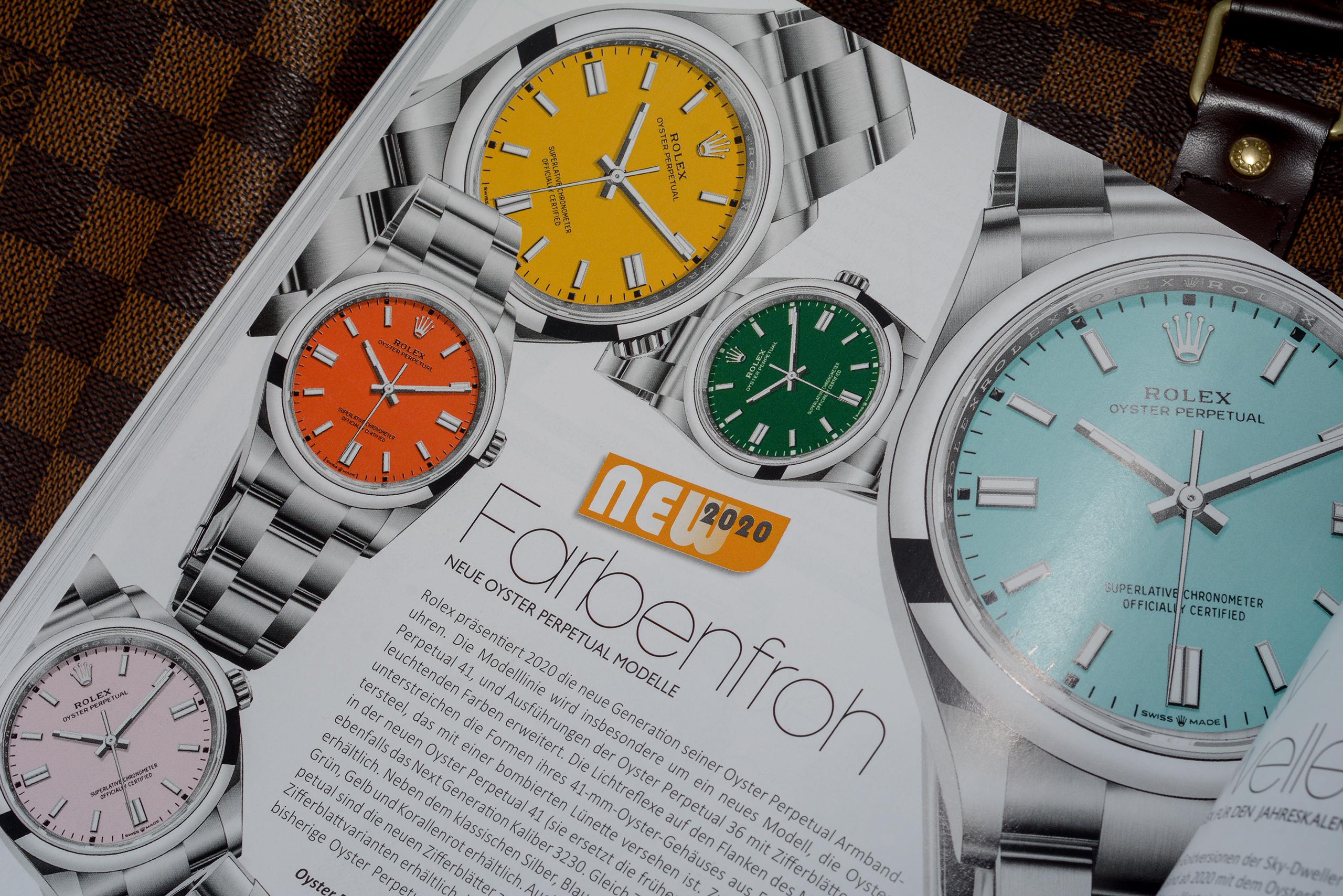 Uhren Vorstellen 2021