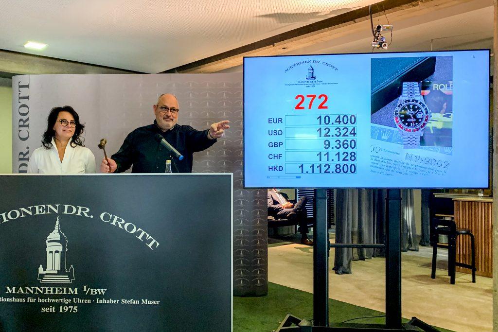Luxify Nachbericht 103. Auktion Auktionshaus Dr. Crott Stefan Muser