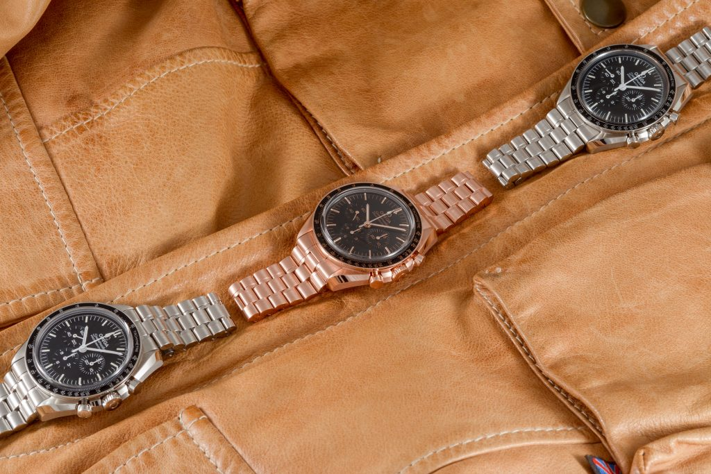 Luxify Review Hands-on Omega Speedmaster Professional Moonwatch 2021 Sedna-Gold