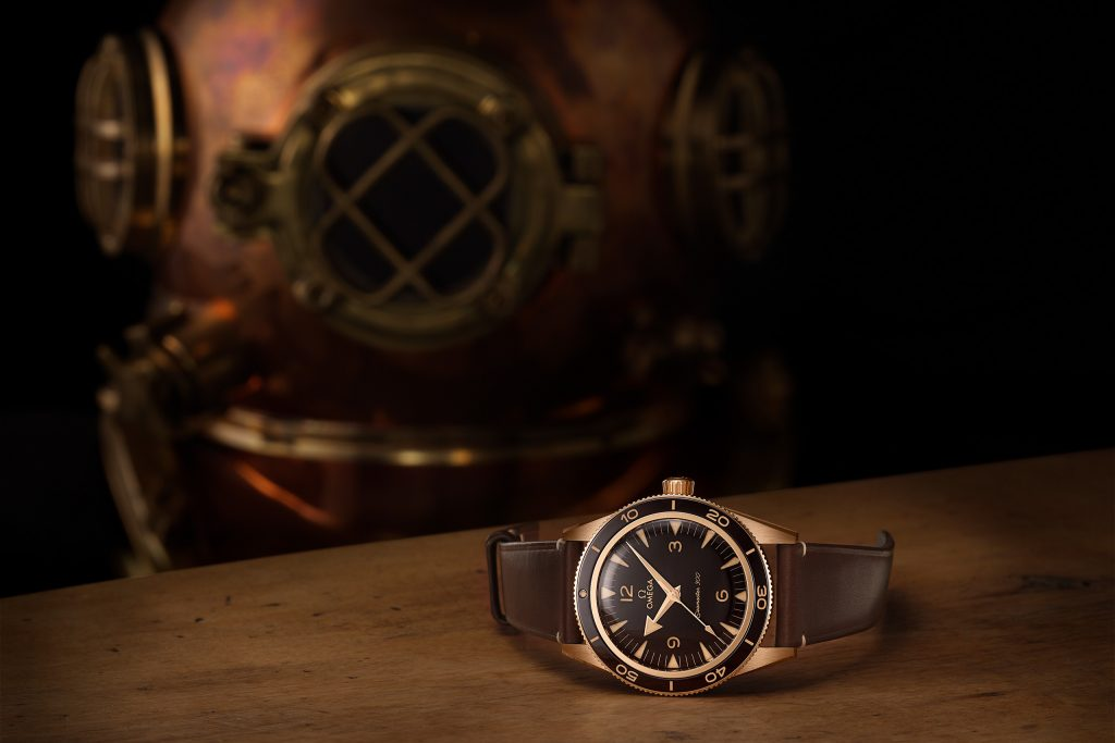 Luxify Neuheit Omega Seamaster 300 Bronze-Gold 234.92.41.21.10.001