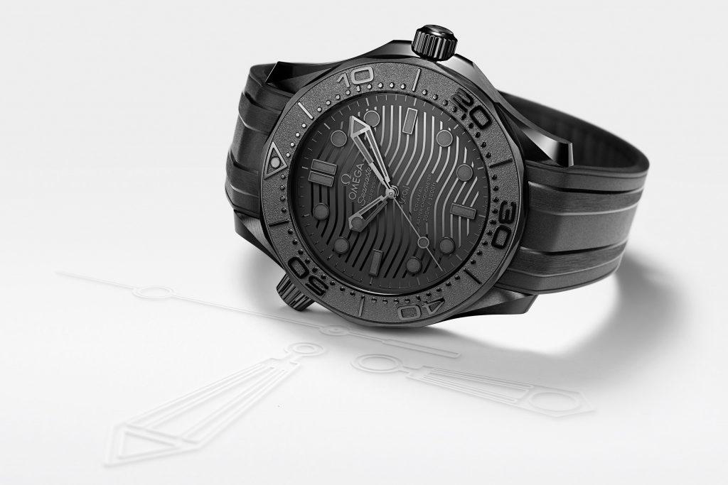 Luxify Neuheit 2021 Omega Seamaster Diver 300M 43,5 MM Black Black 210.92.44.20.01.003