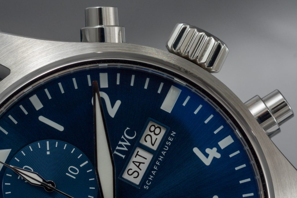 Luxify Review Hands-on IWC Pilot's Watch Chronograph 41, Ref. 3881