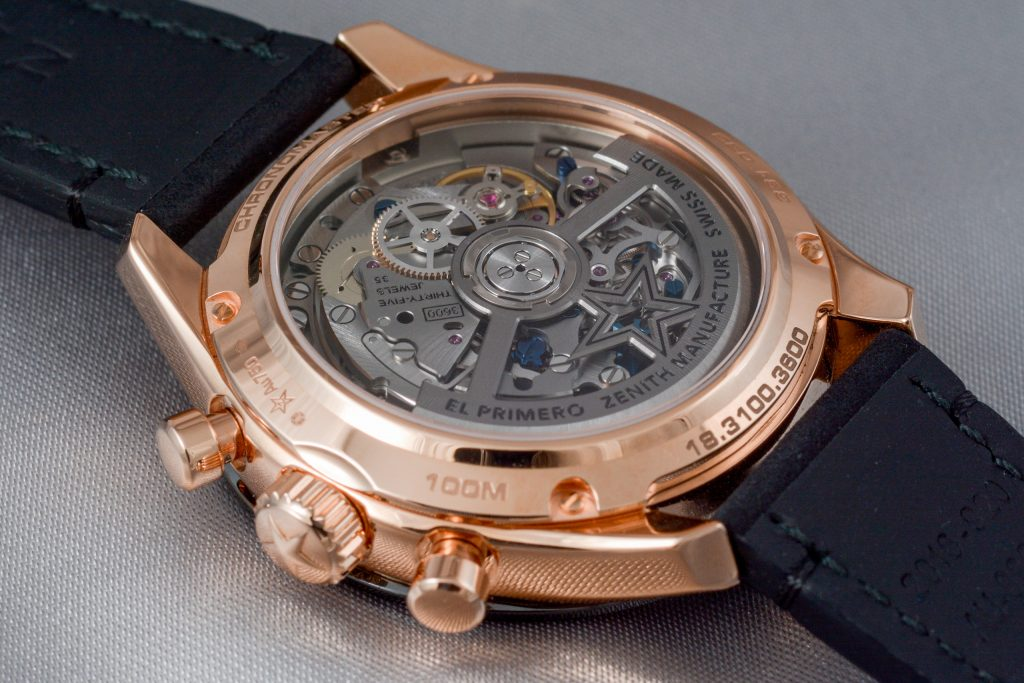 Luxify Review Hands-on Zenith El Primero Chronomaster Sport Rosegold