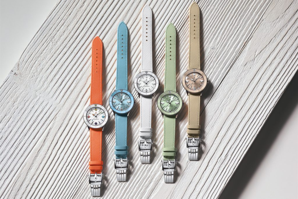 Luxify Preview Breitling Superocean Heritage '57 Pastel Paradise Capsule Collection